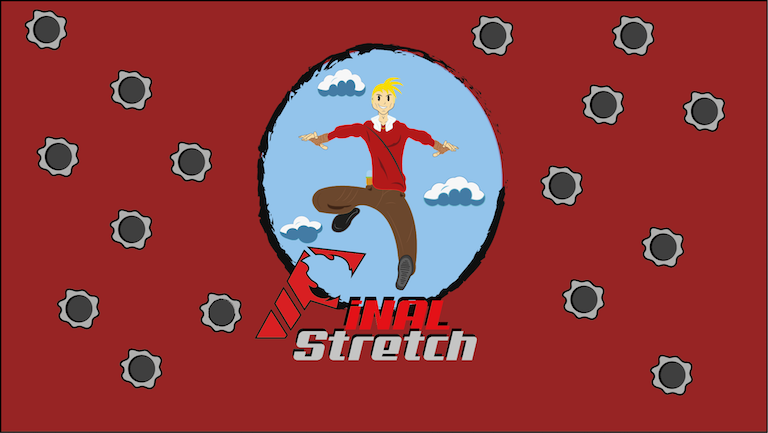 Image of the Final Stretch Game Logo